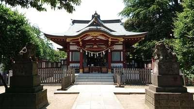 東京都薭田神社の本殿