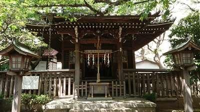 東京都御園神社の本殿