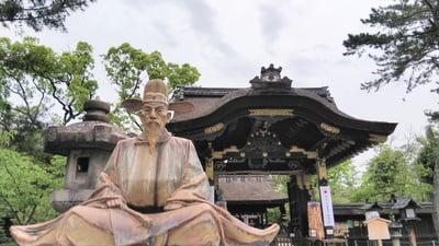 豊国神社(京都府七条駅) - 像の写真