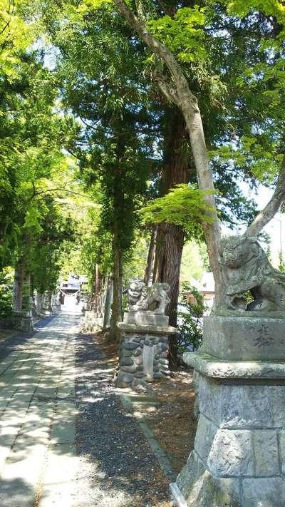 鹿嶋神社の景色