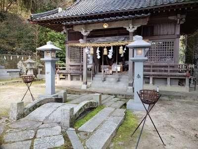 福岡県高祖神社の本殿
