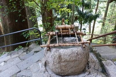 飛瀧神社の手水