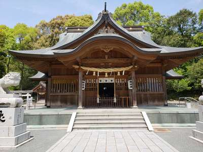 福岡県高宮八幡宮の本殿