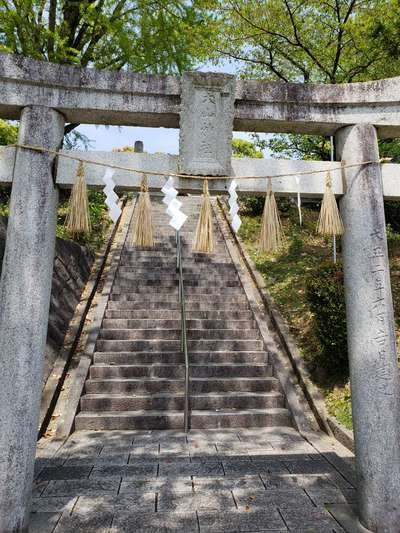 福岡県高宮八幡宮の写真