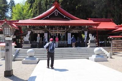 宮城県金蛇水神社の本殿