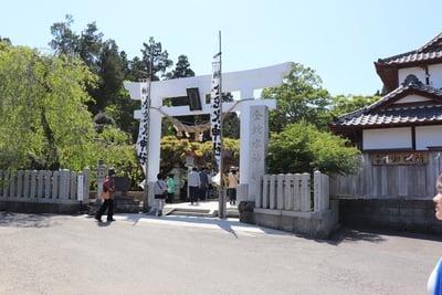 金蛇水神社(宮城県岩沼駅) - 鳥居の写真