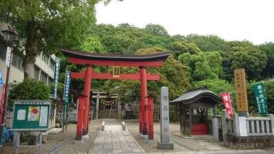 岐阜県橿森神社の鳥居