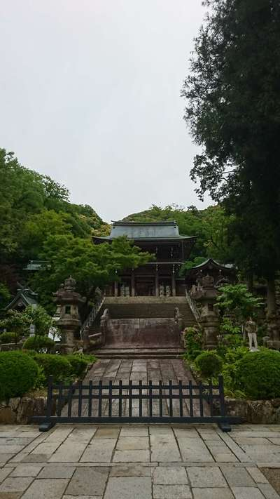 岐阜県伊奈波神社の本殿
