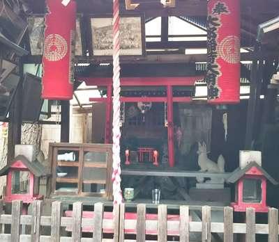 東京都太郎稲荷神社の写真