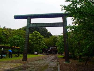 岐阜県岐阜護国神社の鳥居