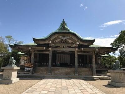 豊國神社の本殿