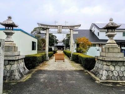 愛知県酒井神社の鳥居