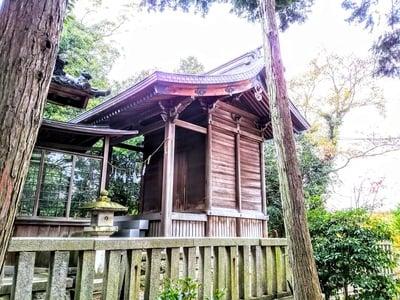 愛知県酒井神社の本殿