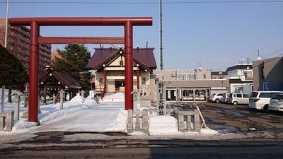 北海道新川皇大神社の鳥居