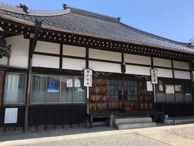 愛知県来応寺の本殿