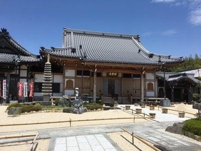 愛知県大光山 安楽寺の本殿