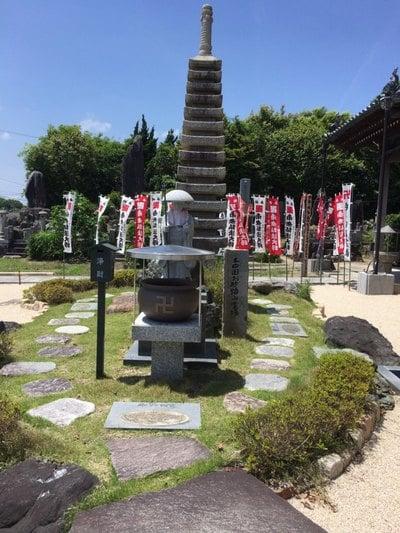 大光山 安楽寺の塔