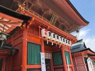 富士山本宮浅間大社(静岡県富士宮駅) - 山門・神門の写真