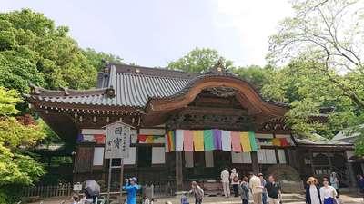 東京都深大寺の本殿
