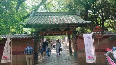 東京都上野東照宮の山門