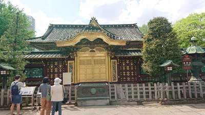 東京都上野東照宮の本殿