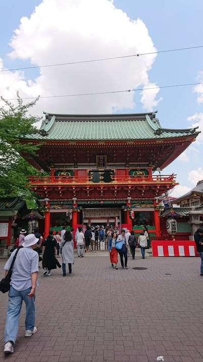 東京都神田神社(神田明神)の山門