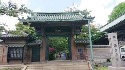 東京都湯島聖堂の山門
