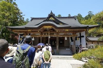 和歌山県熊野本宮大社の本殿