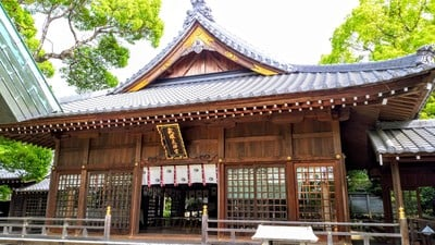 武雄神社の本殿