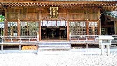 愛知県武雄神社の本殿