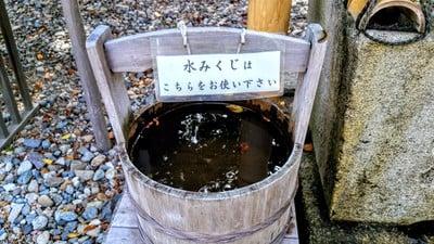 武雄神社のおみくじ