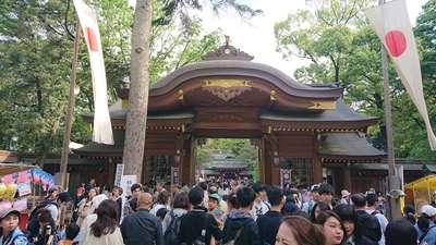 東京都大國魂神社の山門