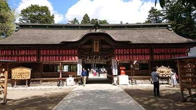 宮城県大崎八幡宮の本殿