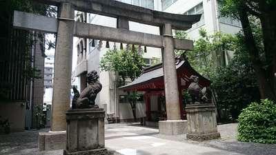 日本橋日枝神社の鳥居