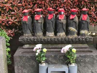 東陽寺の地蔵