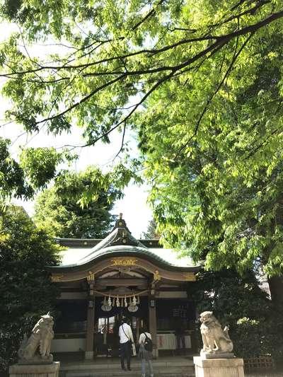 大鳥神社の本殿