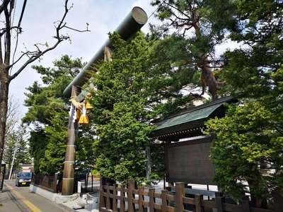北海道白石神社の鳥居
