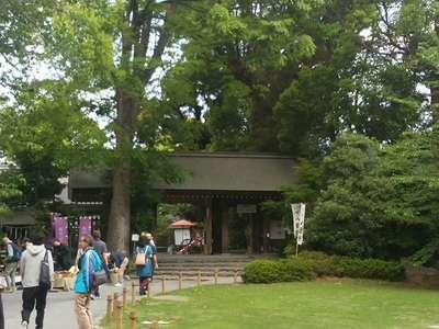 東京都阿佐ヶ谷神明宮の山門