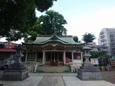 東京都白山神社の本殿