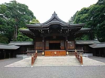 東京都井草八幡宮の本殿