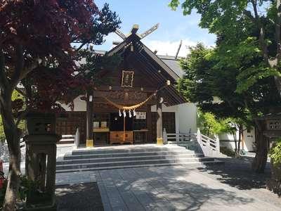 北海道西野神社の本殿
