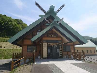 北海道札幌御嶽神社の本殿