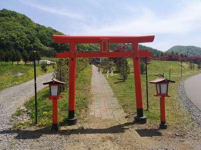 札幌御嶽神社の鳥居