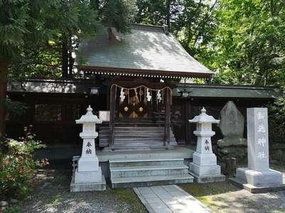 北海道琴似神社の本殿