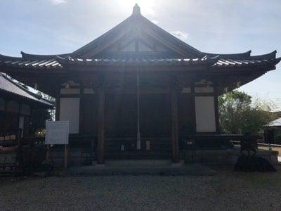 奈良県大安寺の本殿