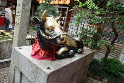錦天満宮の狛犬
