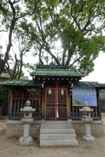 兵庫県諏訪神社の本殿