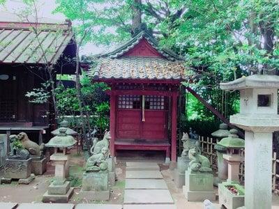渋谷氷川神社(東京都恵比寿駅) - 末社・摂社の写真