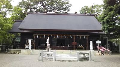 愛知県安久美神戸神明社の写真