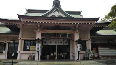 羽田八幡宮の本殿